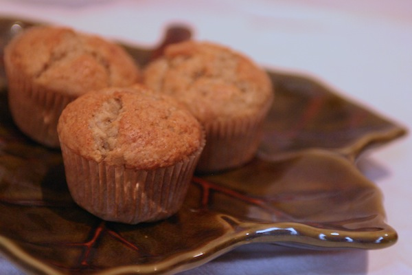 light banana muffin recipe for librarians good deed