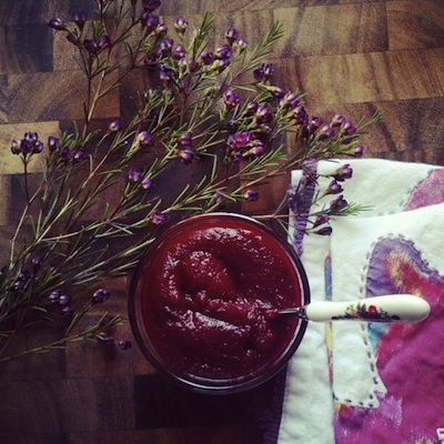 Beets and Blueberry Mash from Mash Your Heart Out