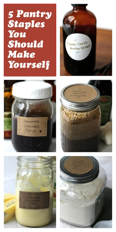 5 Pantry Staples You Should Make Yourself | OnePartSunshine.com