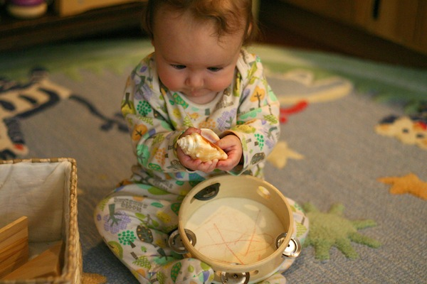 Heuristic Baby Play Using Natural and Found Objects | OnePartSunshine.com