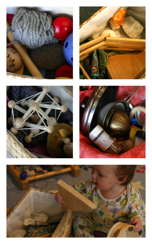 Heuristic Play for Babies and Toddlers Using Natural and Found Materials | OnePartSunshine.com