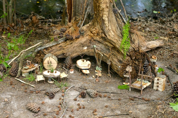 Fairy Houses | Links I Love This Week | OnePartSunshine.com