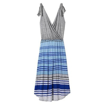 Nursing-friendly dresses | Calypso Cross Front Dress by Athleta