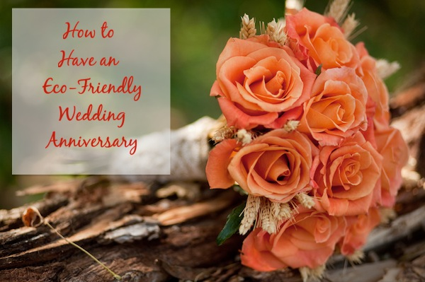 How to Have an Eco-Friendly Wedding Anniversary | OnePartSunshine.com