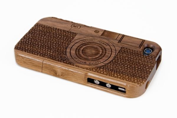 Photojojo Wood Camera iPhone case