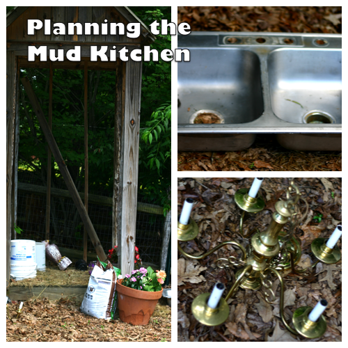 Planning the Mud Kitchen | OnePartSunshine.com