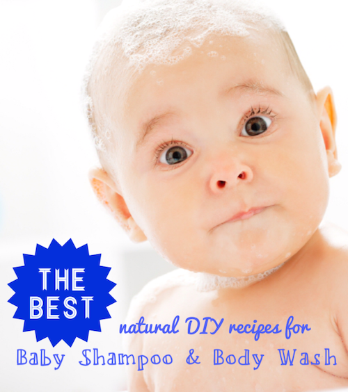 The Best Natural DIY Baby Shampoo and Body Wash Recipes